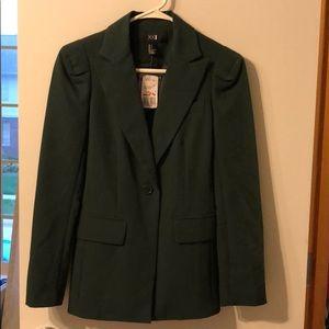 NWT Hunter green Forever 21 blazer